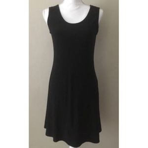 Women's Black Covington A-Line Dress SZ Medium